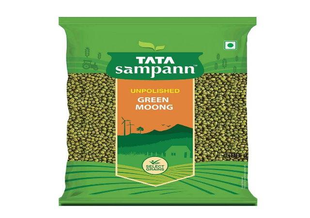 Tata Sampann Green Moong Whole