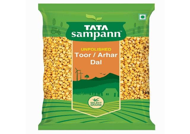 Tata Sampann Unpolished Toor Dal/Arhar Dal