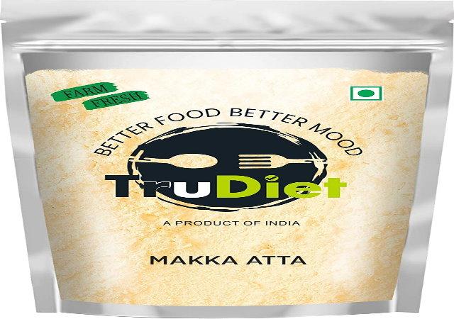 Trudiet Maize Flour 450gm (makki ka Atta) 450g A Healthy Diet Solution